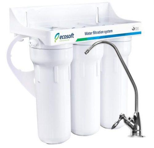 Трехступенчатая система очистки Ecosoft
